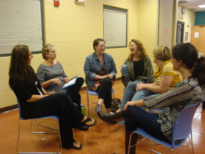Small Group Breakout at Women of Wellness Meeting