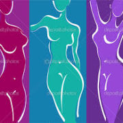 women's abstract body